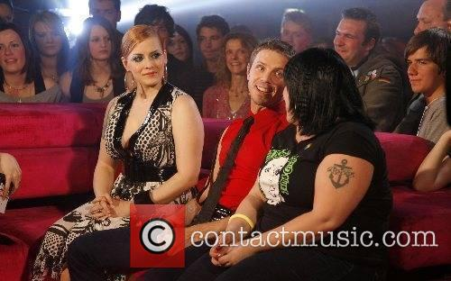 Ana Matronic, Jake Shears and Beth Ditto appear...