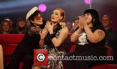Yoko Ono, Ana Matronic and Beth Ditto appear...