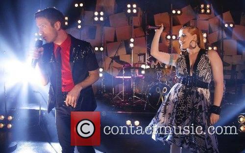 Jake Shears and Ana Matronic of The Scissor...