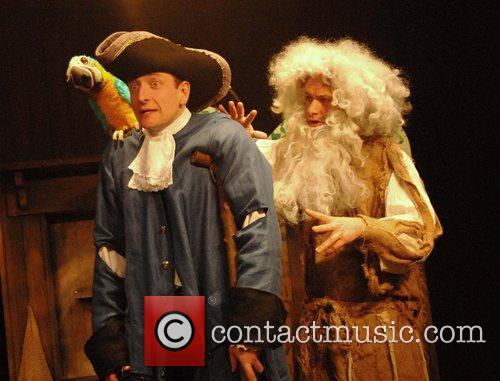 Rafe Beckley and Richard Stemp perform at a...