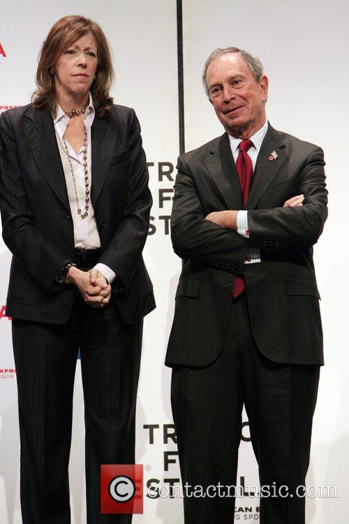 Jane Rosenthal and Mayor Bloomberg  7th Annual...