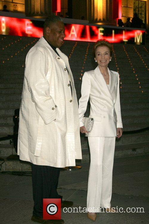 Andre Leon Talley and Lee Radziwill  2008...