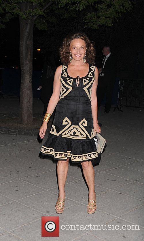 Diane Von Furstenburg attend the 2008 Vanity Fair...