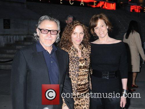 Harvey Keitel, Sigourney Weaver and Vanity Fair