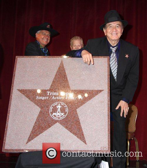 Trini Lopez is honored by the Las Vegas...