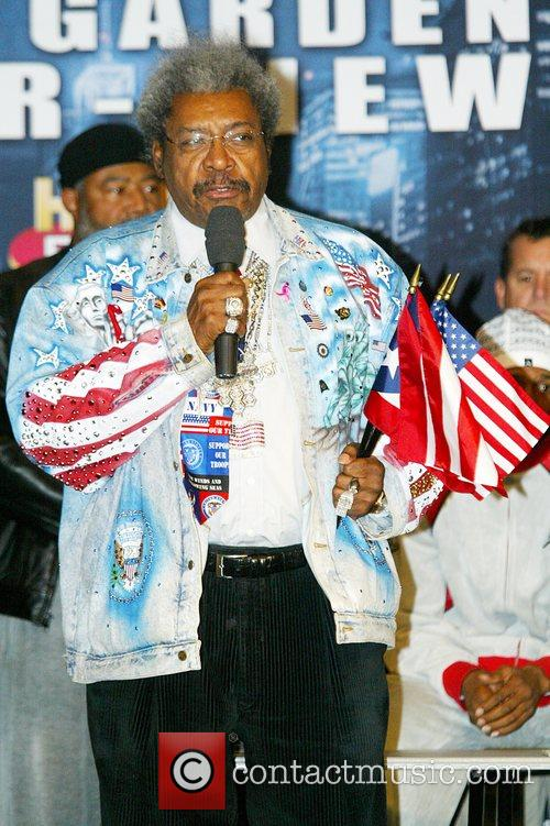 Don King weighs in Felix Trinidad and Roy...