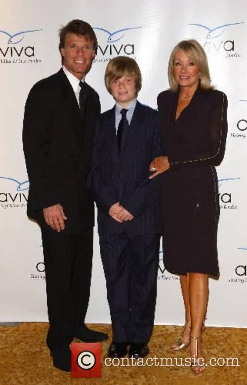Adam Mills, Austin Mills and Jade Mills Aviva...