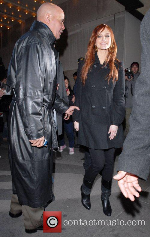Ashlee Simpson and Mtv 4