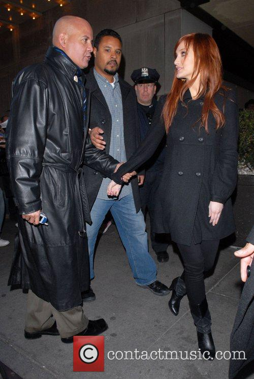 Ashlee Simpson and Mtv 5