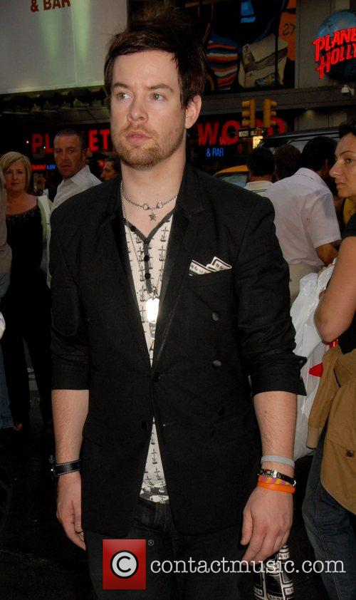 'American Idol' winner David Cook outside MTV TRL...