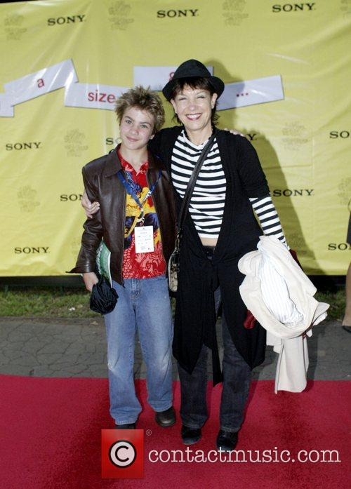 Jennifer Byrne and her son The Sony 'Tropfest,'...