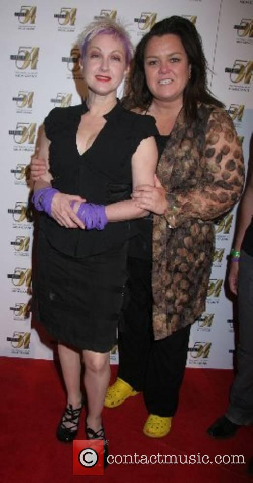 Cyndi Lauper, Rosie O'Donnell 'True Colors' after-party at...