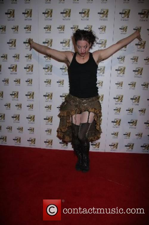 Amanda Palmer (The Dresden Dolls) 'True Colors' after-party...