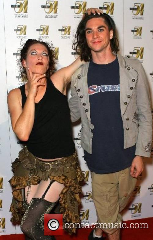 Amanda Palmer and Brian Viglione of Dresden Dolls...