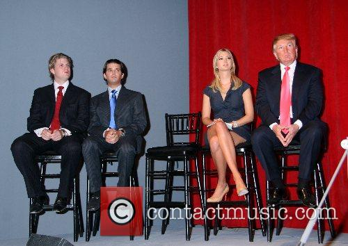 Eric Trump, Donald Trump and Ivanka Trump 5