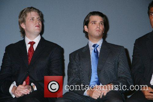 Eric Trump and Donald Trump 4