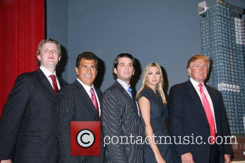 Eric Trump, Donald Trump and Ivanka Trump 7