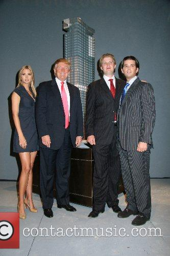 Ivanka Trump, Donald Trump and Eric Trump 6