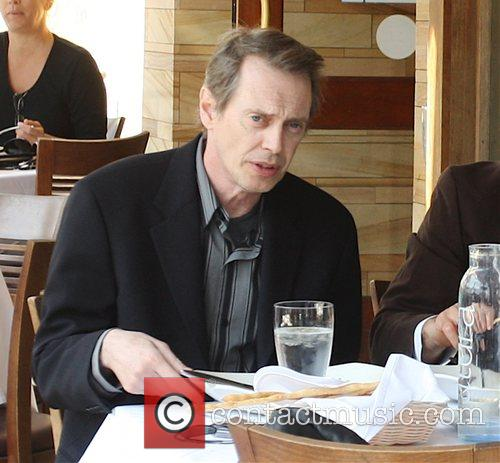 Steve Buscemi having lunch in Beverly Hills with...