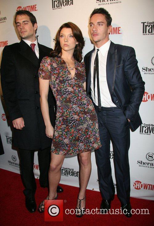 Henry Cavill, Natalie Dormer and Jonathan Rhys Myers 5