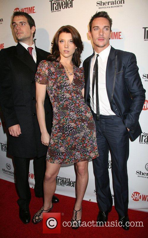 Henry Cavill, Natalie Dormer and Jonathan Rhys Myers 6