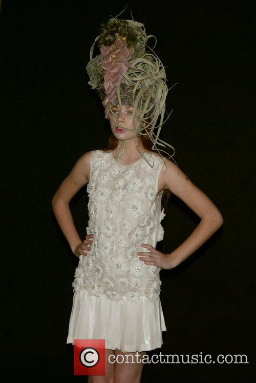 Model Tulips and Pansies - Fashion show benefit...