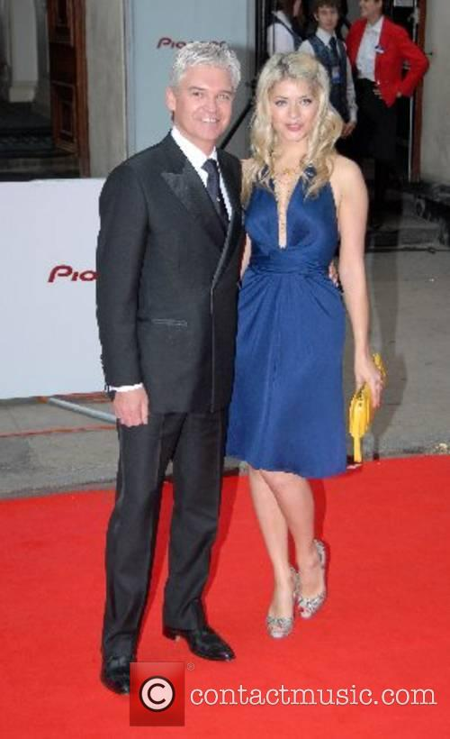 Phillip Schofield and Willoughby The Pioneer British Academy...