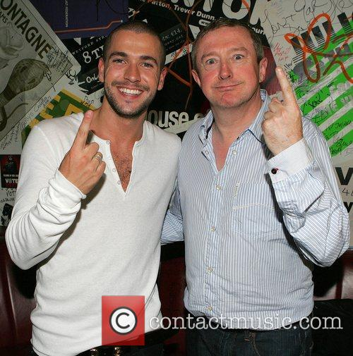 Shayne Ward and Louis Walsh The TV3 Autumn...