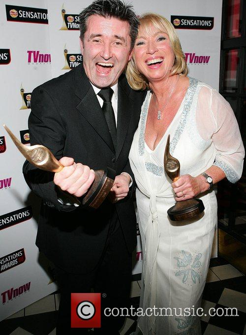 Martin King and Anne Doye Winners of favourite...