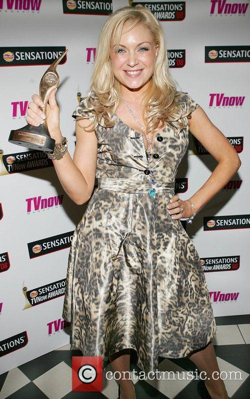 Rita Simons  Winner of best newcomer TV...