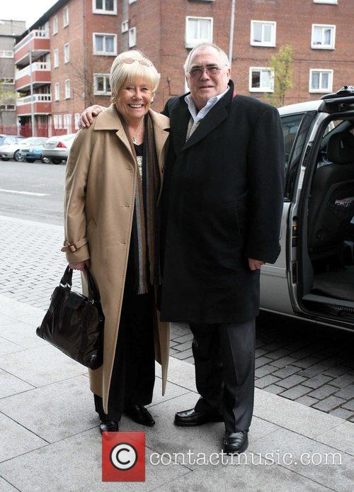 British soap stars arrive at their hotel ahead...