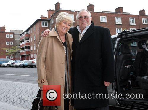 Liz Dawn and Bill Tarmey British soap stars...