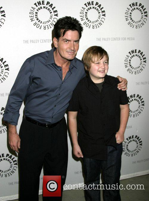 Charlie Sheen and Angus T. Jones 5
