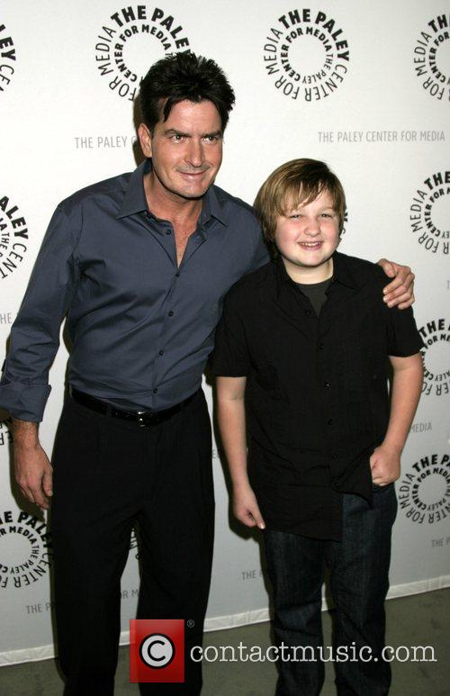 Charlie Sheen and Angus T. Jones 7