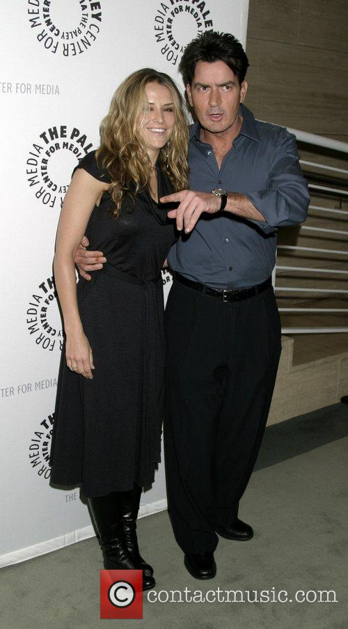 Charlie Sheen and Fiancee Brooke Mueller 2