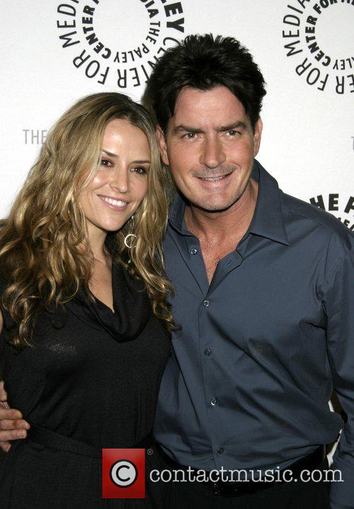 Charlie Sheen and Fiancee Brooke Mueller 6