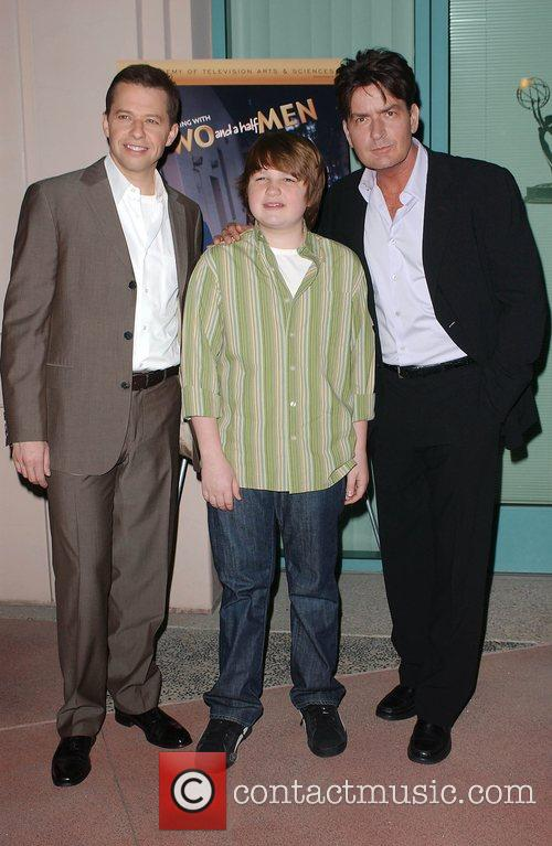 Jon Cryer Charlie Sheen Angus T. Jones