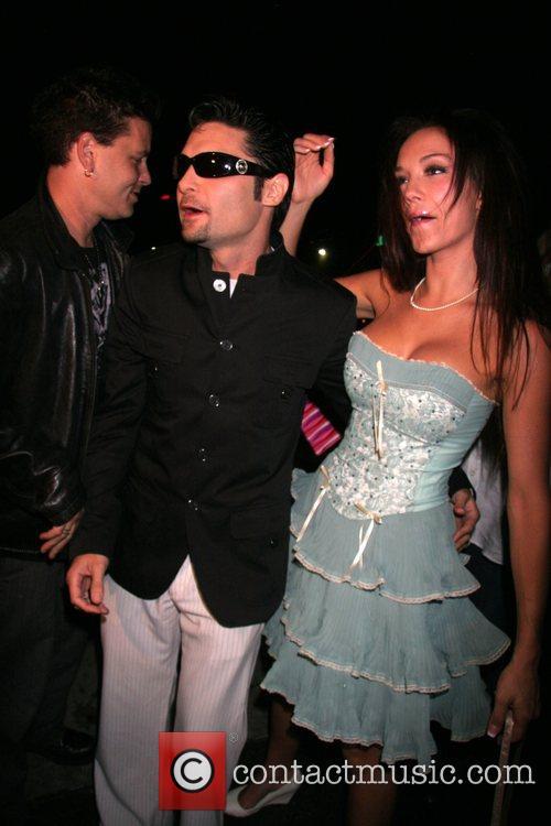 Corey Feldman and wife Susie Sprague with Corey...