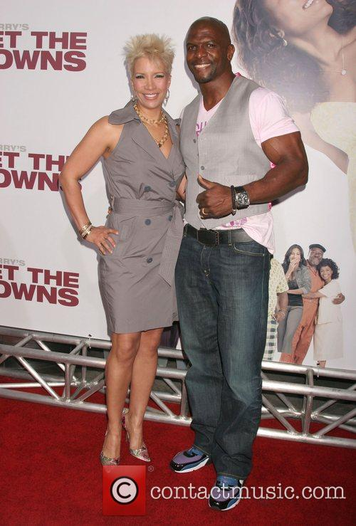 Terry Crews and Rebecca World Premiere of Tyler...