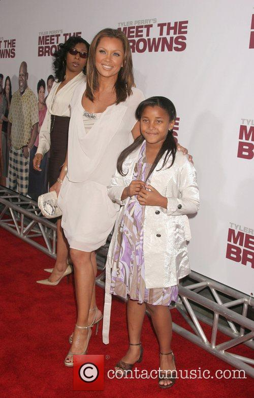 Vanessa Williams and Guest World Premiere of Tyler...