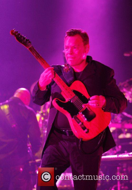 UB40 performing live in concert at Bournemouth International...