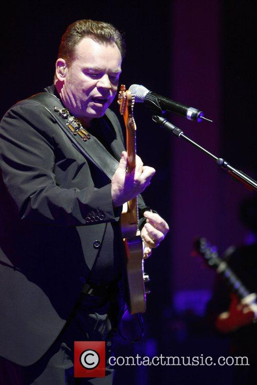 Ali Campbell UB40 performing live in concert at...