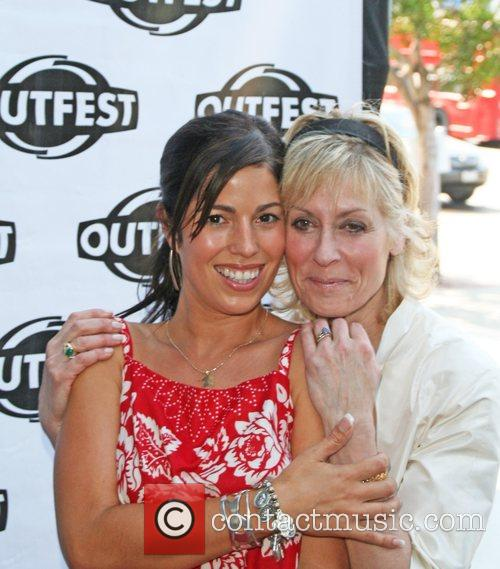 Ana Ortiz and Judith Light The cast of...