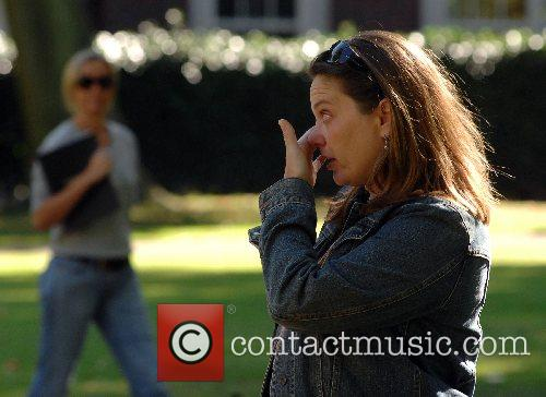 Friends and relatives remember the victims of the...