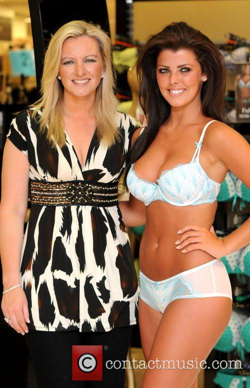 Miss Scotland , Nieve Jennings and Michelle Mone...