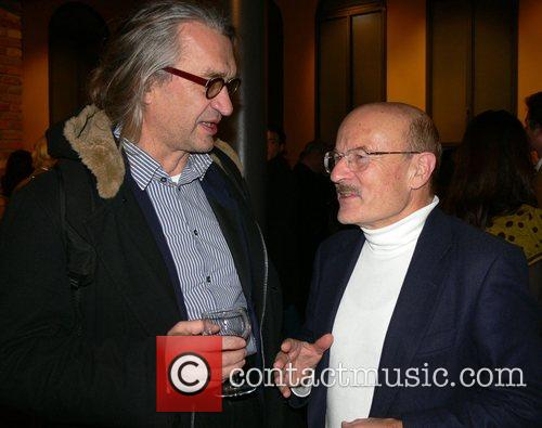 Wim Wenders, Volker Schloendorff Aftershow-party for the Premiere...
