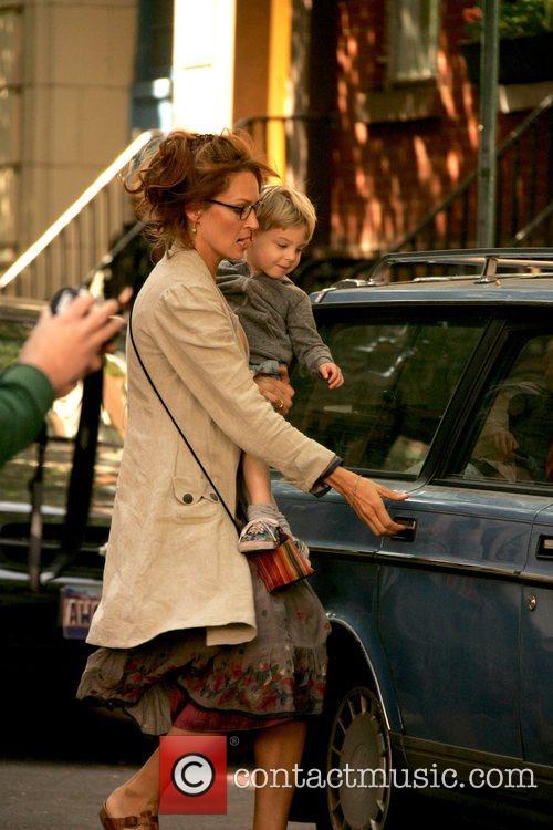 On the film set of 'Motherhood'
