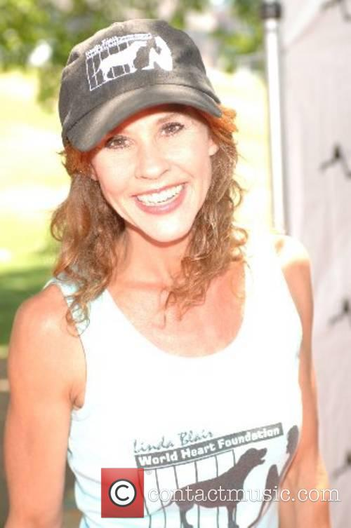 Linda Blair Walk for the Underdog charity supporting...