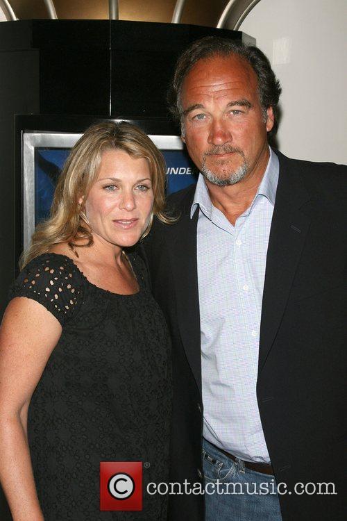 Jim Belushi and wife Jennifer Sloan World Premiere...