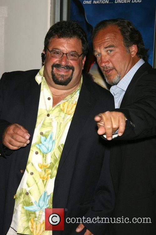 Jim Belushi and guest World Premiere of 'Underdog'...